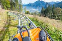 Sommerrodelbahn in den Ammergauer Alpen