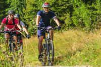 Radfahren auf Naturpfaden
